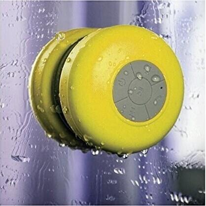 Mini haut-parleur bluetooth étanche Enceinte-haut-parleur-bluetooth-etanche-jaune